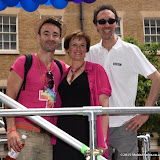 OIC - ENTSIMAGES.COM - Joe McFadden, Gemma Atkinson and Guy Henry at the    Pride in London Parade  27th June 2015  27th June 2015   Photo Mobis Photos/OIC 0203 174 1069