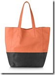 Le Parmentier Colour Block Leather Tote