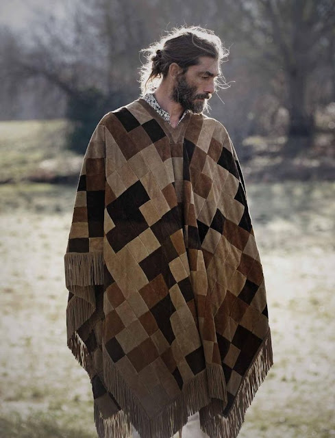 male pattern boldness: Ponchos for Men -- YEA or NAY?