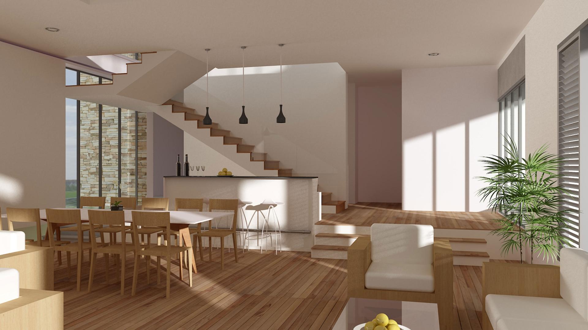 Modern Interieur Warm : Warm and modern interior design mystery wallpaper