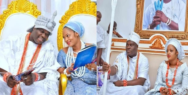 Ooni Of Ife Allegedly Welcomes Secret Baby With Another Woman After Wife Prayed For More Queens