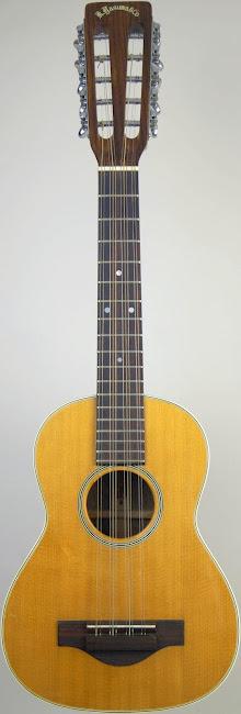 1972 K Yusuma Tiple Ukulele