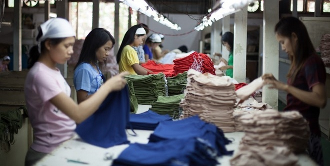 Finishing Section in Garments Industry