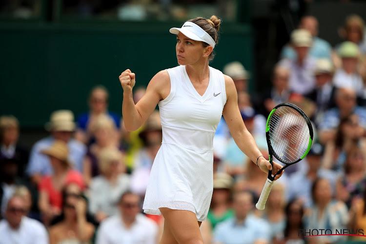 Straffe Simona Halep geeft slechts vier spelletjes prijs en pakt eerste eindzege op Wimbledon