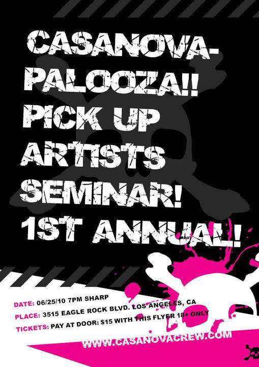 Casanova Palooza Pickup Artists Seminar, Casanova Crew
