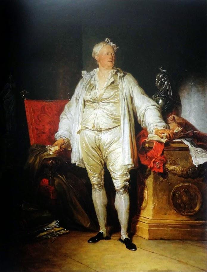 François-André Vincent - Potrait of Pierre-Jacques-Onésyme Bergeret, 1774