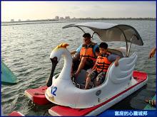 大鵬灣國家風景區-天鵝船