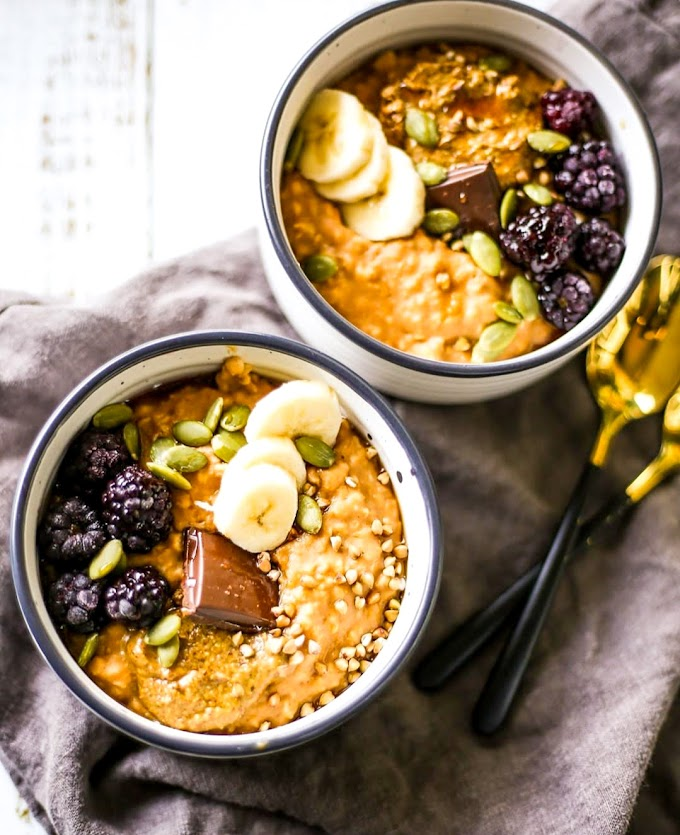 Sweet Potato Porridge Recipe | Breakfast Care
