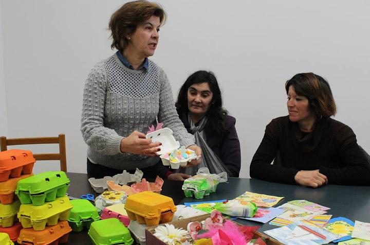 Famílias carenciadas participam em atelier de reciclagem da Misericórdia de Lamego