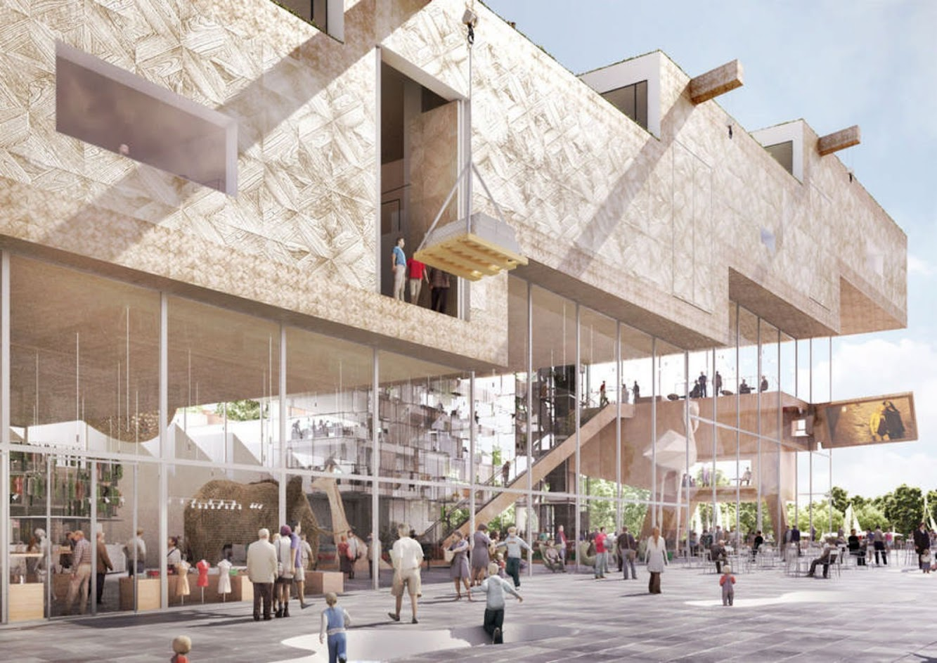 NL Architects Shortlisted Proposal Arta Competition
