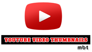 Extract YouTube Video Thumbnails