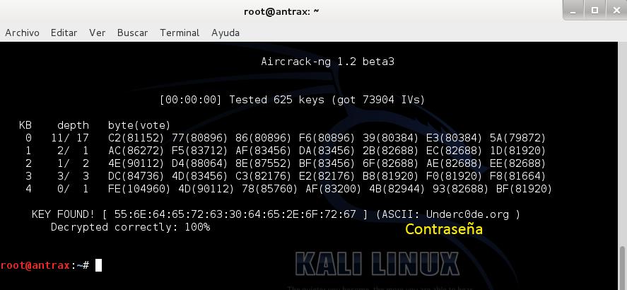 Reventando una red con cifrado WEP con un ataque ARP Request 8