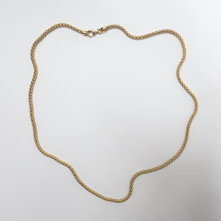 14K Yellow Gold Thick Rope Necklace
