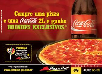 Pizza Hut faz ação com a Coca-Cola para Campeonato Gaúcho