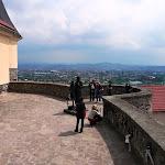 6. Pohľad na Mukačevo z hradu Palánok.JPG