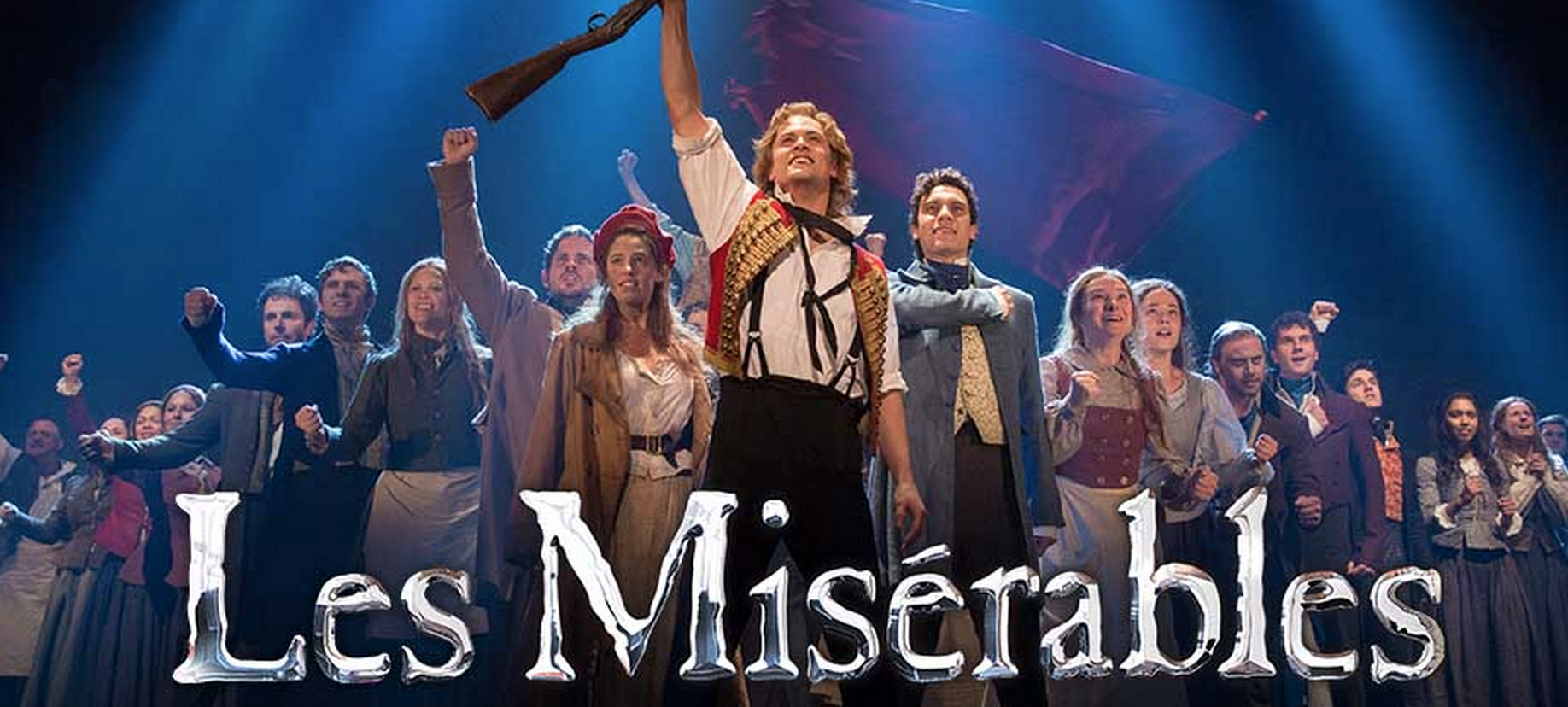 2015 Les Miserables end of Act 1 formation. Photo: Capitol Theater website