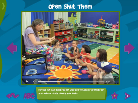 Mulberry FingerPlays Demo Open Shut Them