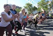 В городе Николаеве Олимпийский день начался с забега вип-персон