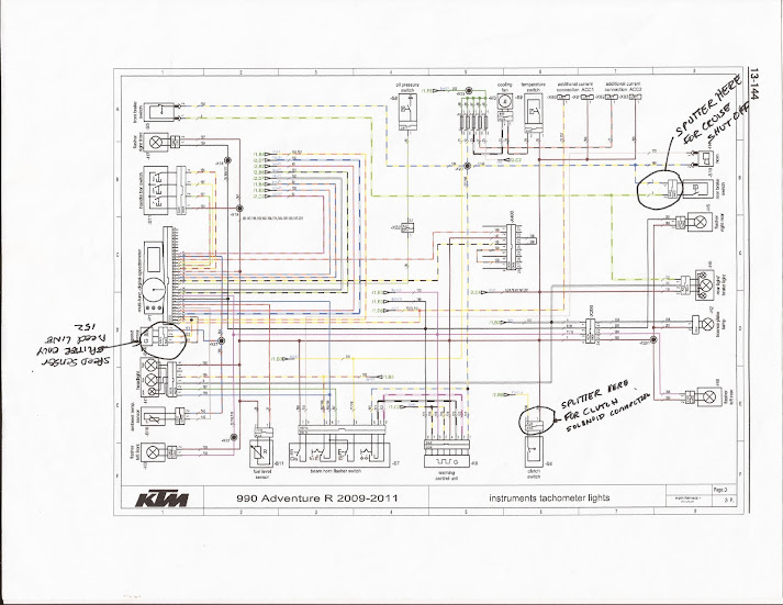 KTM+Splitter+Connections new and improved ktm690 wunderfest page 500 adventure rider ktm 990 adventure wiring diagram at soozxer.org