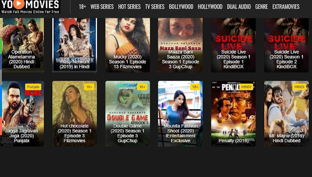 YoMovies 2021- illegal movies downloading website