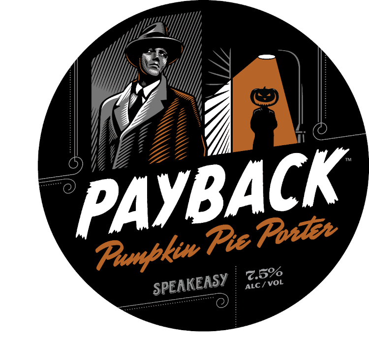 Logo of Speakeasy Payback Pumpkin Pie Porter
