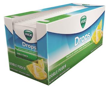 Vick Drops Limón   Refrescante Sobres Caja X24Sob. P&G Alkanfor