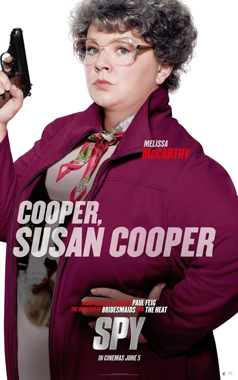 Spy Melissa McCarthy Poster