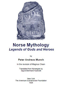 Cover of Peter Andreas Munch's Book Norse Mythology Legends of Gods and Heroes