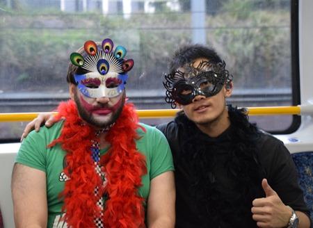 guys on train