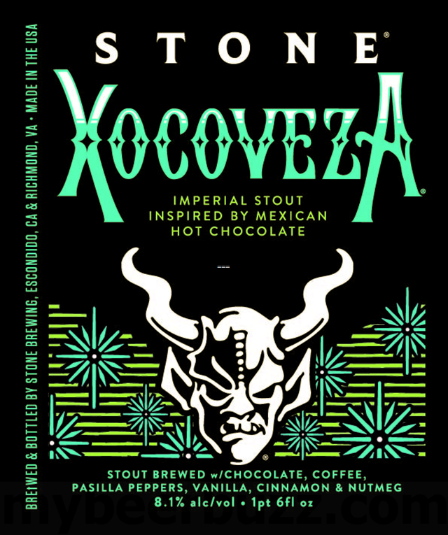 Stone Xocoveza Returning In Cans For 2018