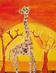 African Landscape by Joy