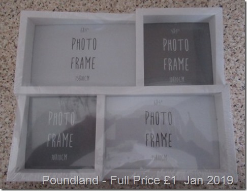 Poundland Photo Frame