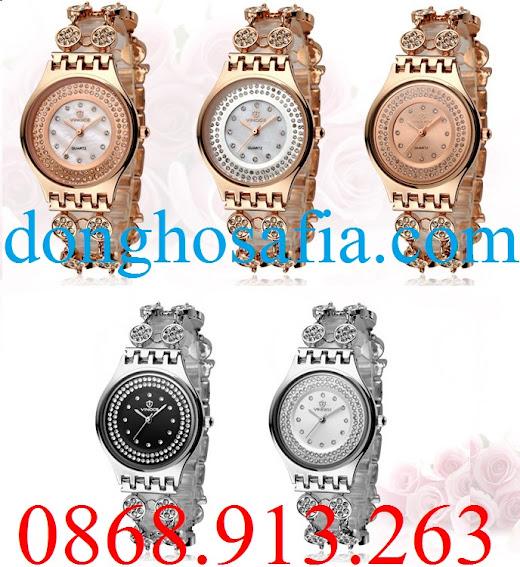 Đồng hồ nữ Vinoce cơ V6353 VE108