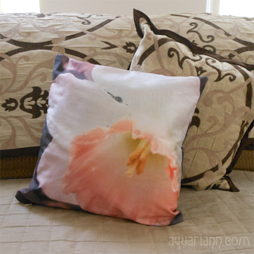 April Birthday Gift Daffodil Pillow