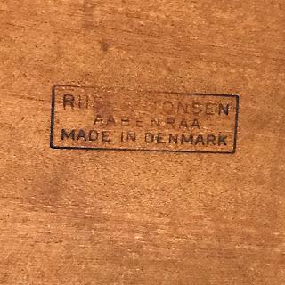 Riis Antonsen Rosewood Danish Modern Desk