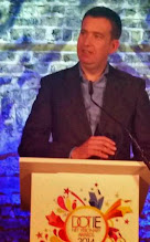 Photo: +Mark Littlewins Ireland's Net Visionary Award for 2014. #netvis2014