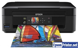 How to Reset Epson XP-306 flashing lights problem
