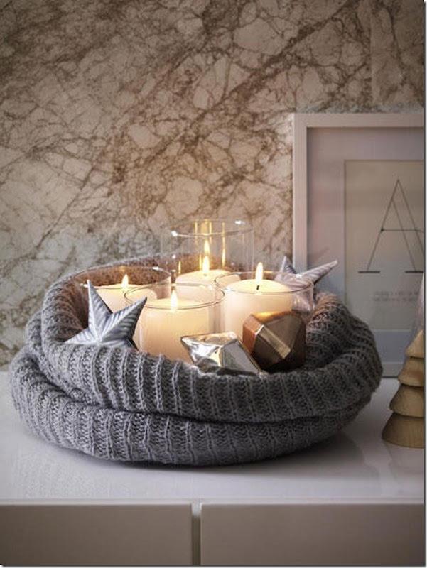 Diy decorazione per natale in stile nordico case e interni - Creare decorazioni natalizie ...
