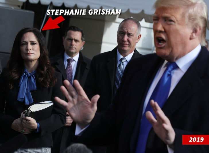 Former White House press secretary accuses Trump of wanting to get a look of attractive young aide's butt