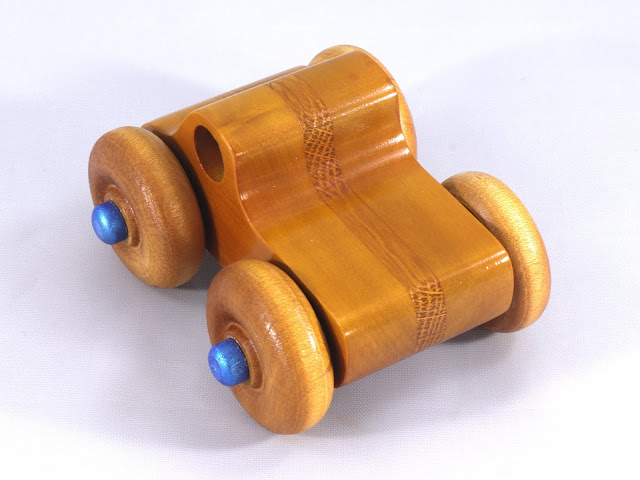 Handmade Wooden Toy Monster Truck Based on the Play Pal Picku
