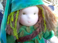 "Elf Boy 16"" Waldorf Doll"