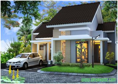 Desain rumah minimalis sederhana tipe 60.