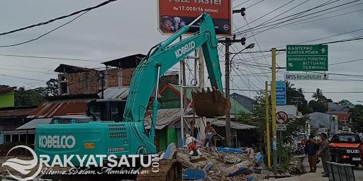 Duhh, Patung Tempat ngumpul Anak Muda di Toraja Dibongkar