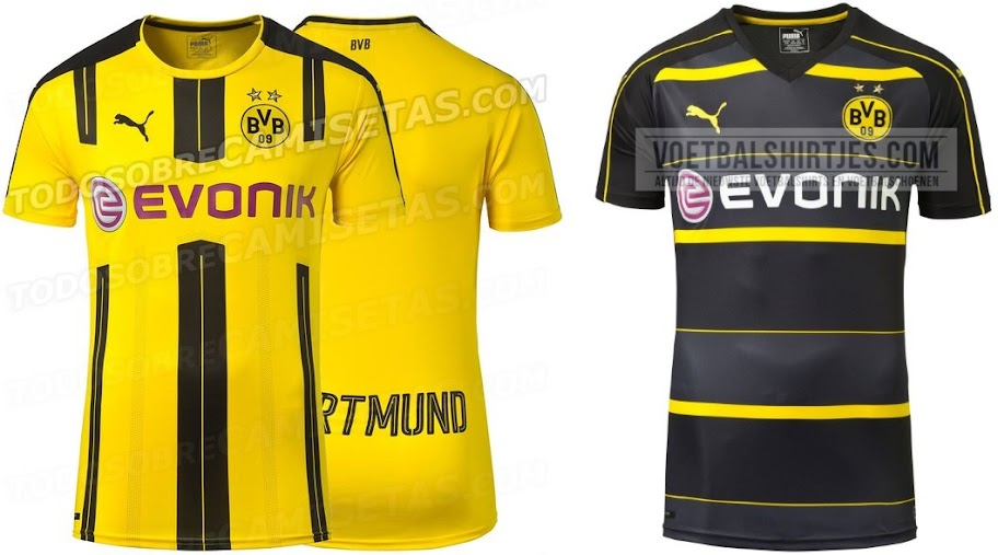 huge selection of 8d252 9c550 Borussia Dortmund New Jersey 2016 Results