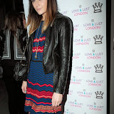 WWW.ENTSIMAGES.COM -       Lilah Parsons    at       Love and Lust London - launch party at Beaufort House Chelsea, 354 Kings Road, London May 21st 2013                                     Photo Mobis Photos/OIC 0203 174 1069