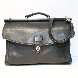Coach Vintage Leather Attache