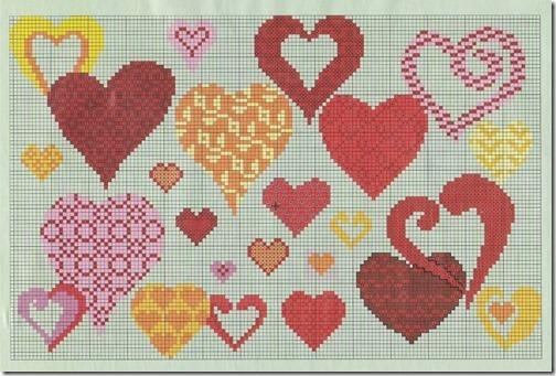 corazones punto de cruz (2)