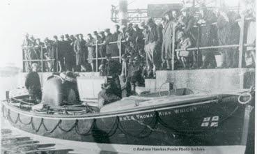Thomas Kirk Wright alongside Gas Quay, Poole