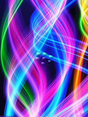 BB Papers By Corrina Neon Rainbow