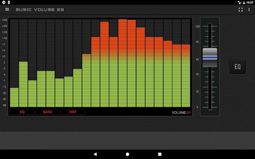 Music Volume EQ — Equalizer Bass Booster Amplifier Screenshot